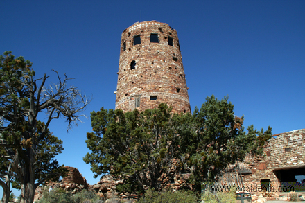 USA - Desert View Watchtower, South Rim, Grand Canyon, Arizona