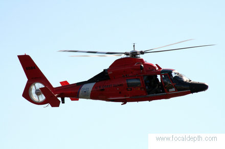 USA - US Coast Guard Helicopter