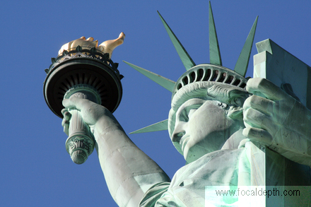 USA - Statue of Liberty, Liberty Island, New York
