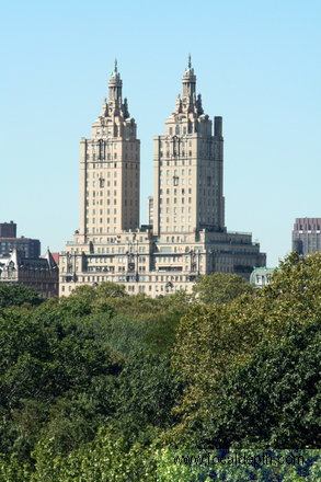 USA - View of San Remo Apartments from Central Park