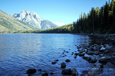 USA - Jenny Lake, Grand Teton National Park, Wyoming