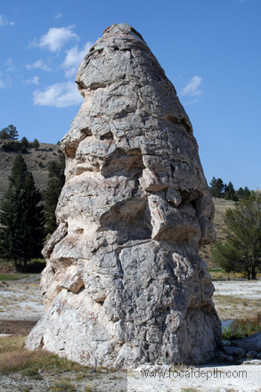 Yellowstone - Liberty Cap, Mammoth Hot Springs, Yellowstone National Park