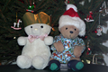 UK - Teddy bears at Christmas