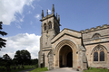 UK - St. Andrew's Church, Aysgarth Falls,  Wensleydale