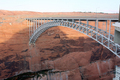 USA - Glen Canyon Bridge at Glen Canyon Dam, Page, Arizona