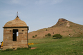 UK - Folly or summerhouse, Roseberry Topping, North Yorkshire