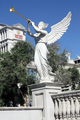 USA - Winged statue near Caesar's Palace, Las Vegas
